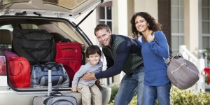 Alt Text: Family Leaving Home for a Long Period of Time